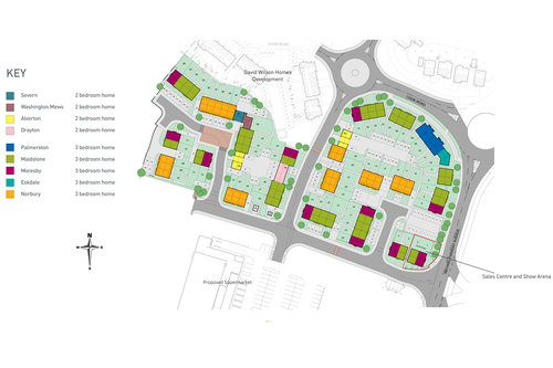 Brindley Gardens Site Map