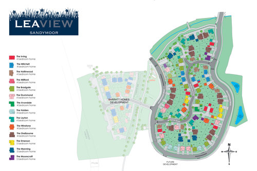 Lea View Site Map