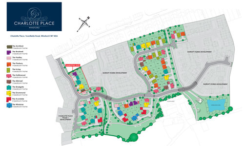 Charlotte Place Site Map