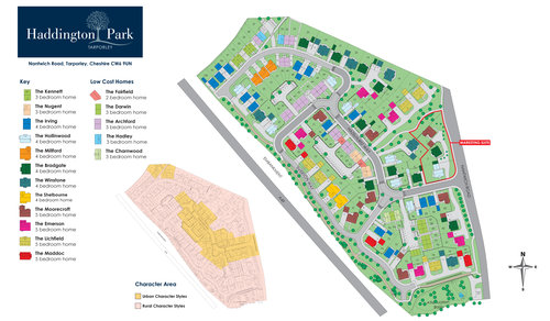 Haddington Park Site Map