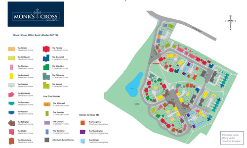 Monks Cross Site Map