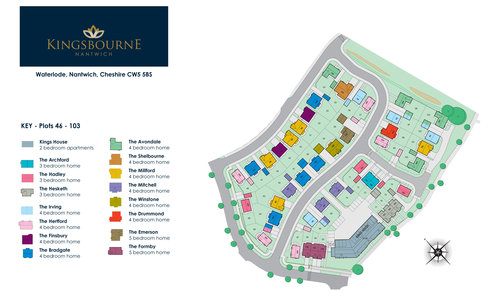 Kingbourne Site Map