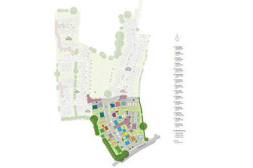 Manor Park Site Map