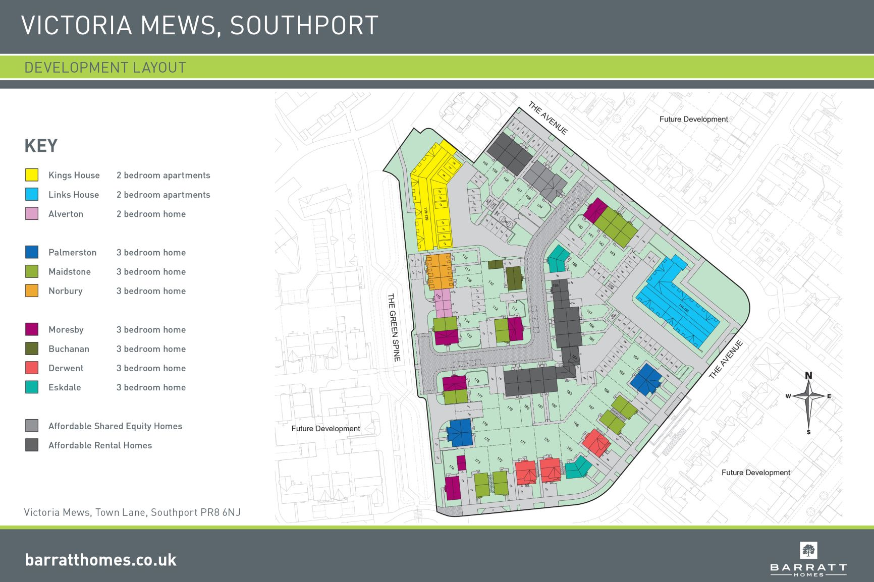 Victoria Mews Site Map