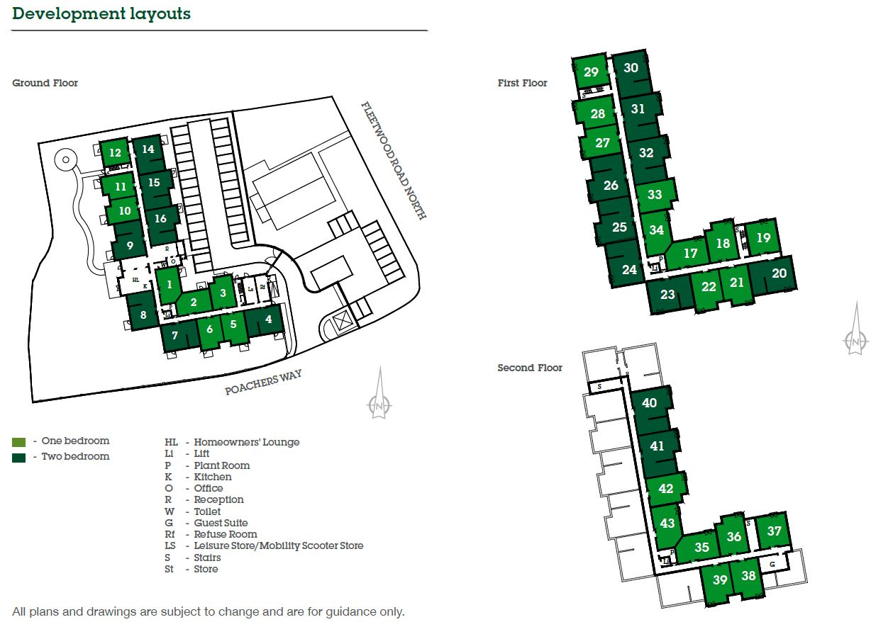 Burrstone Grange Site Map