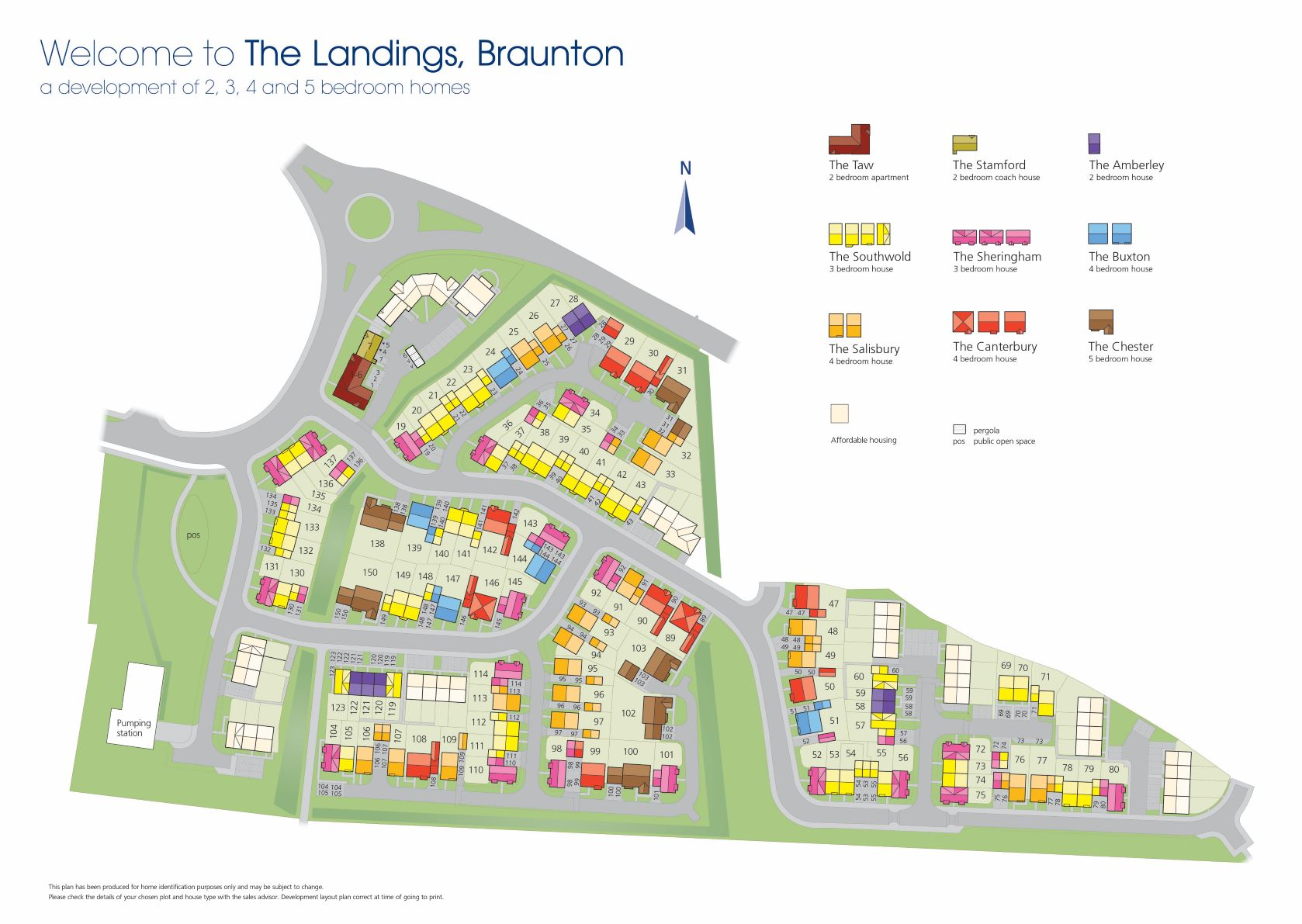 The Landings Site Map
