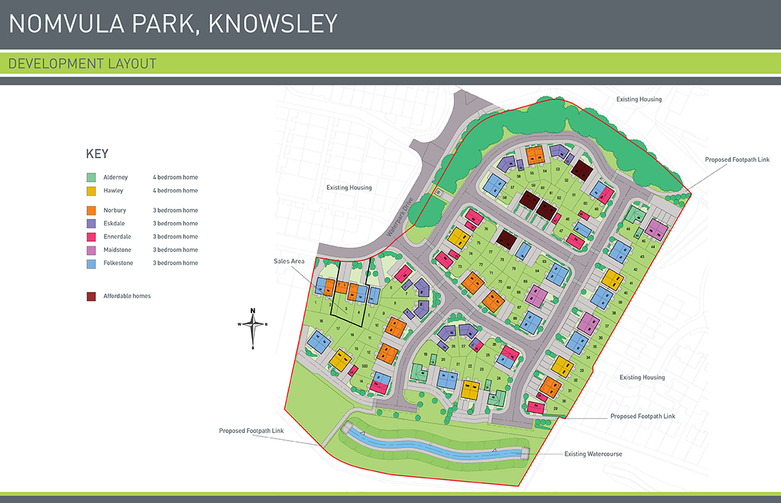 Nomvula Park Site Map