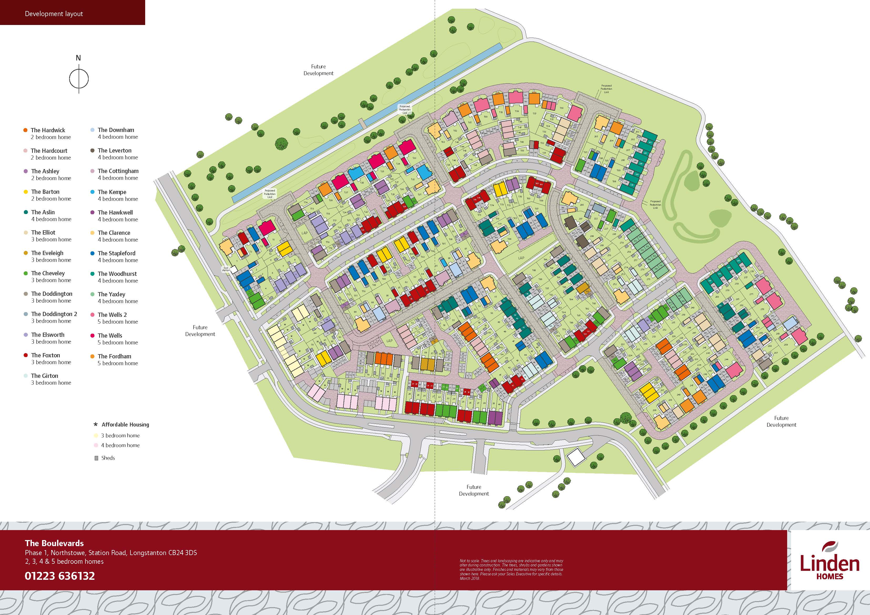 The Boulevards Site Map