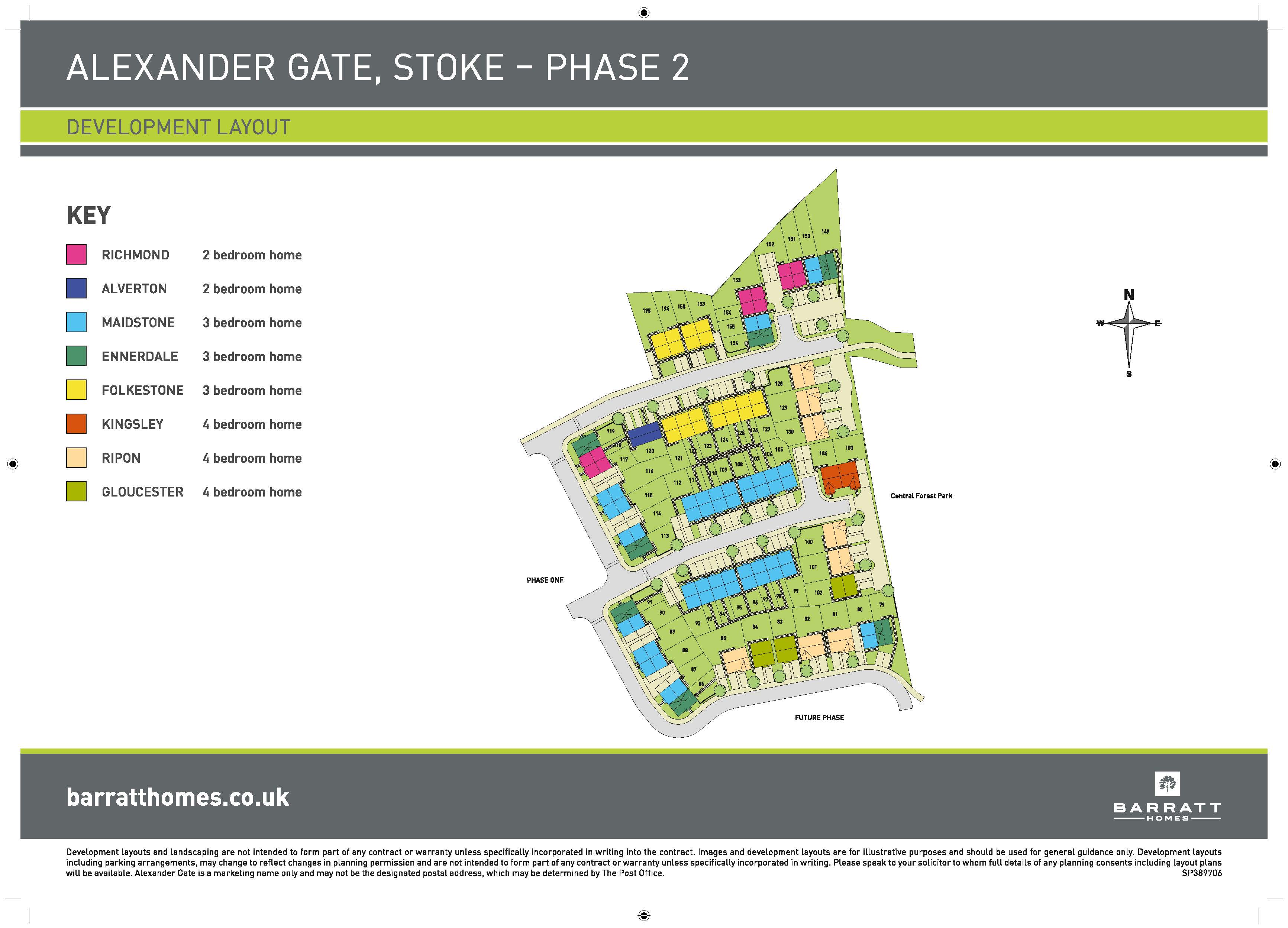 Alexander Gate Site Map