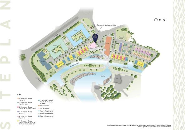 Campbell Wharf Site Map