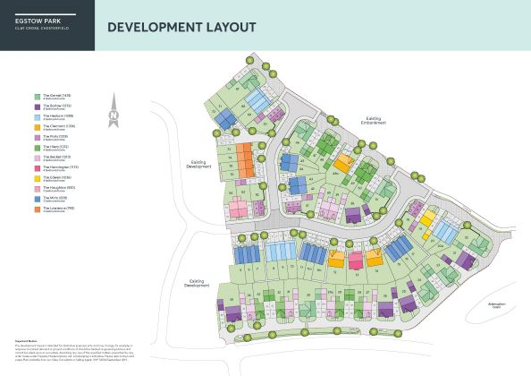 Egstow Park Site Map