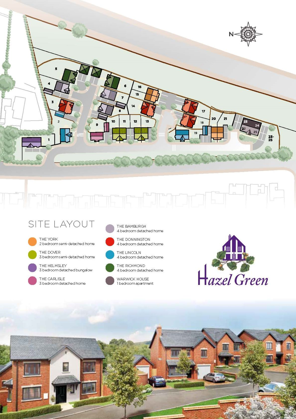 Hazel Green Site Map
