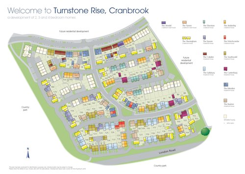 Turnstone Rise Site Map