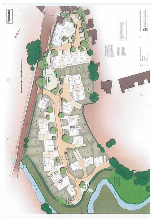 Lowerhouse Green Site Map
