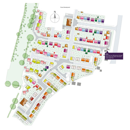 Willowbrook Grange Site Map