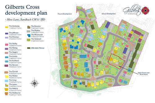 Gilberts Cross Site Map