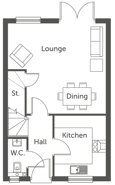 Woodrush - Floor Plan