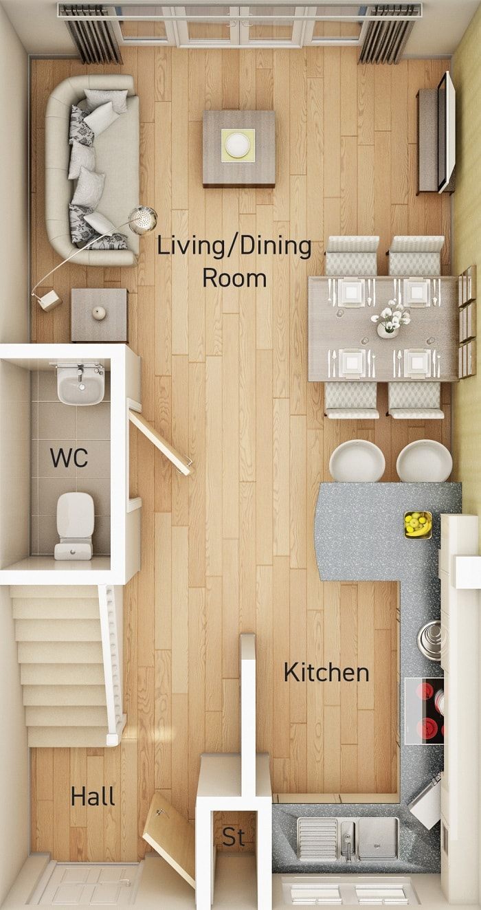 Aston - Floor Plan