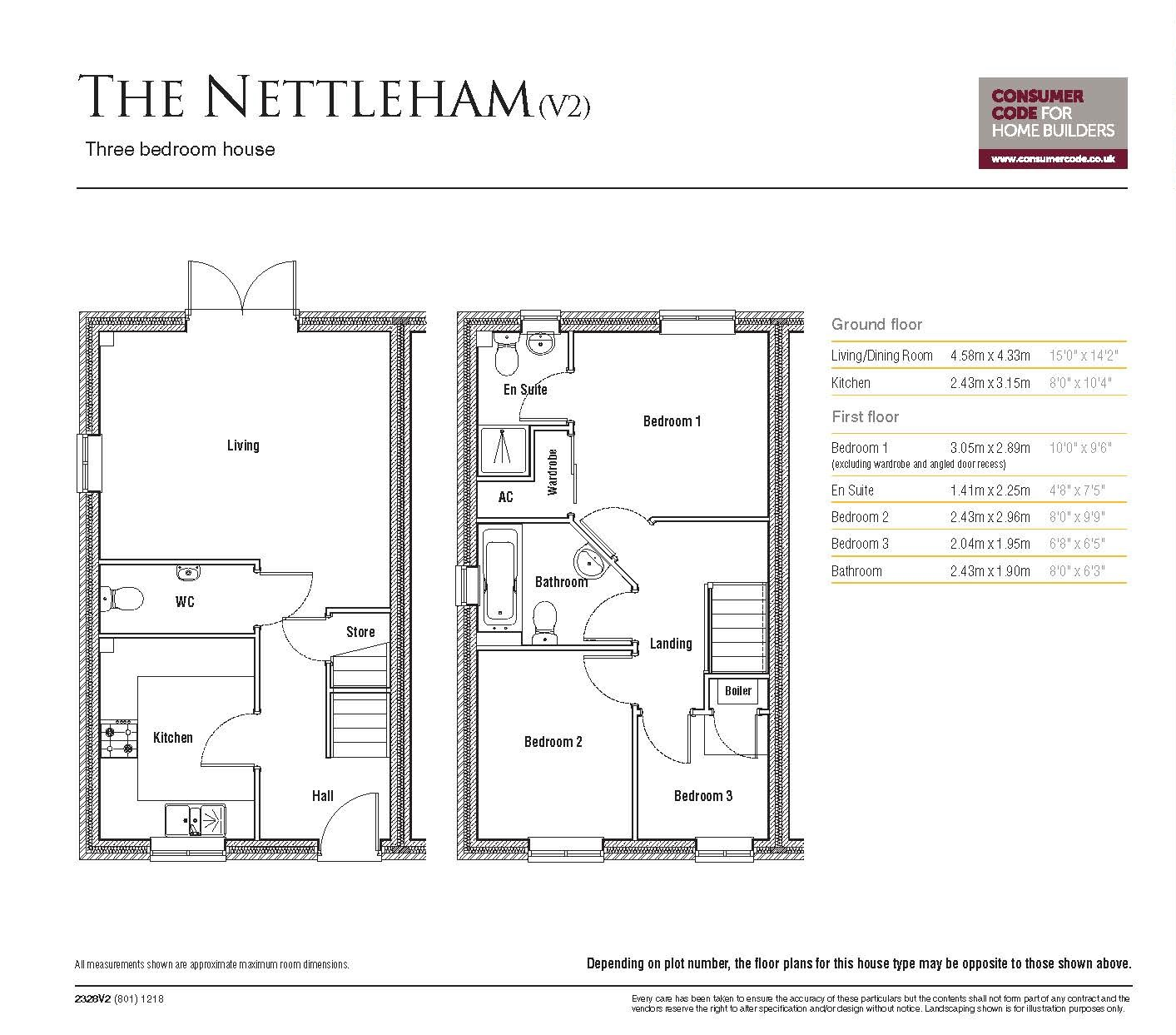 Nettleham - Floor Plan
