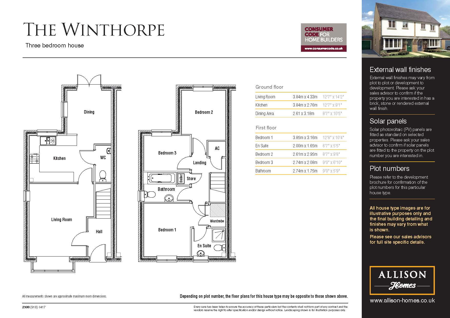 Winthorpe - Floor Plan