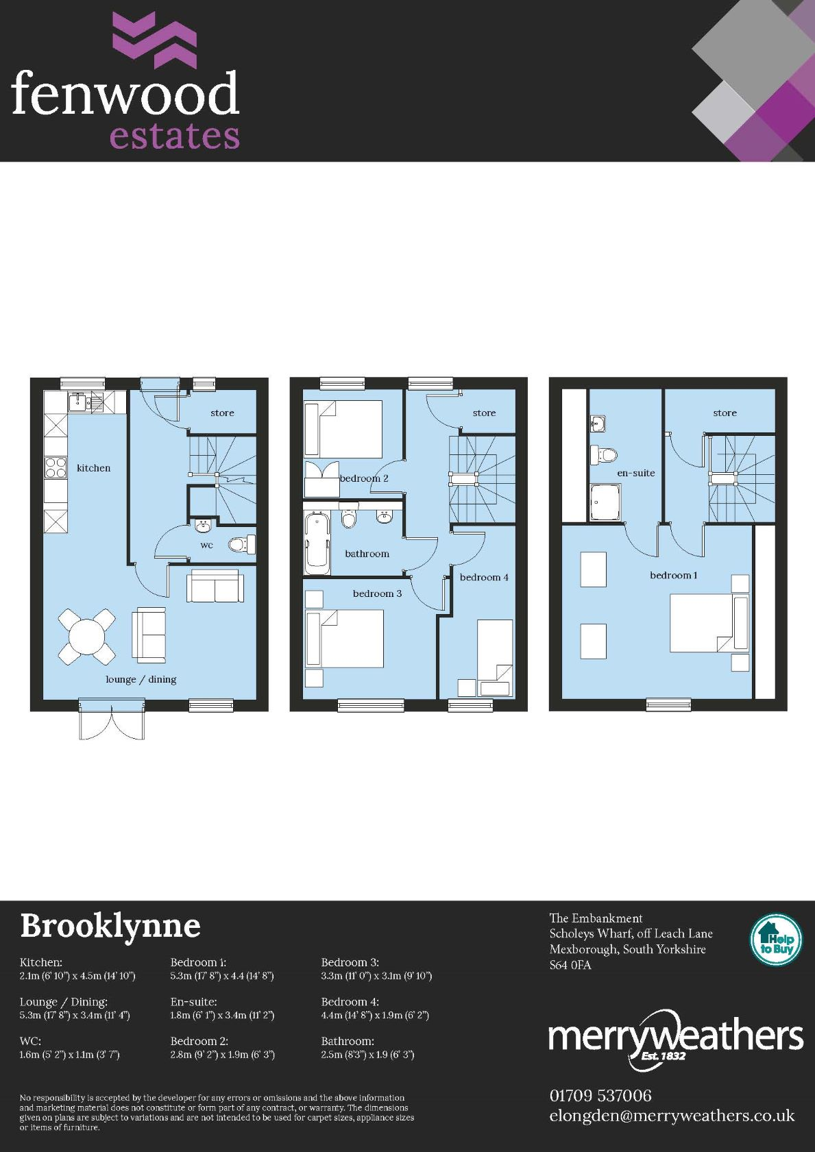 Brooklynne - Floor Plan
