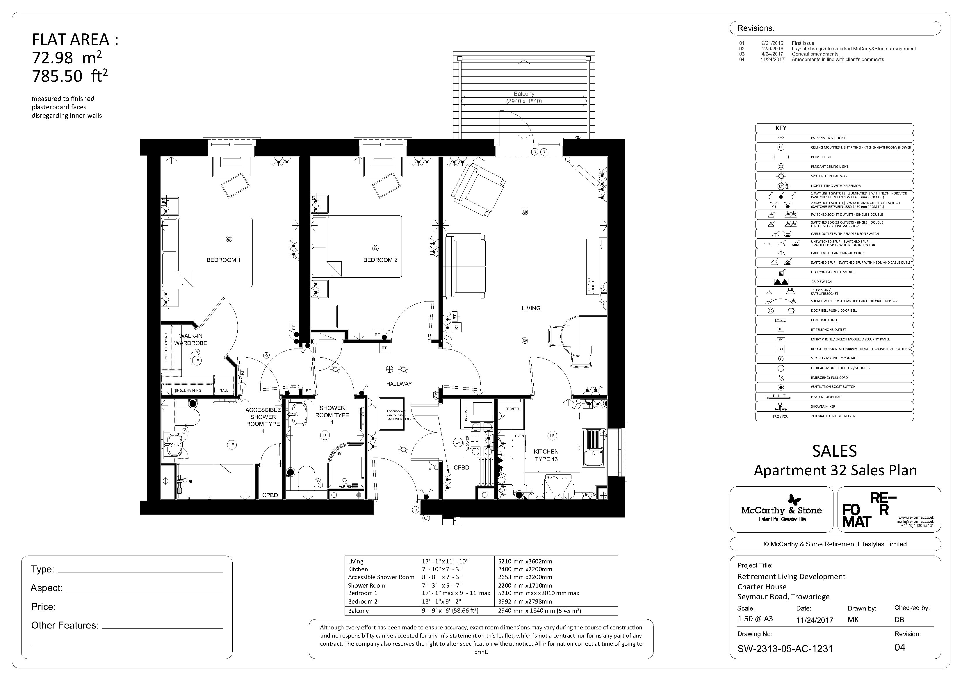 Floor plan - plot 32