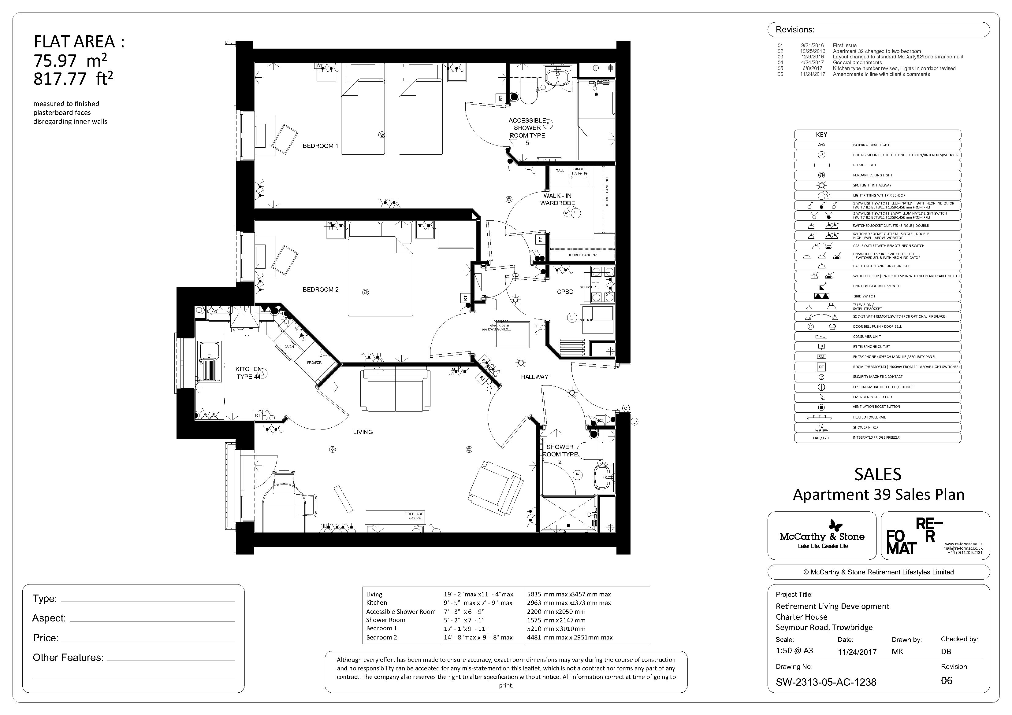 Floor plan - plot 39
