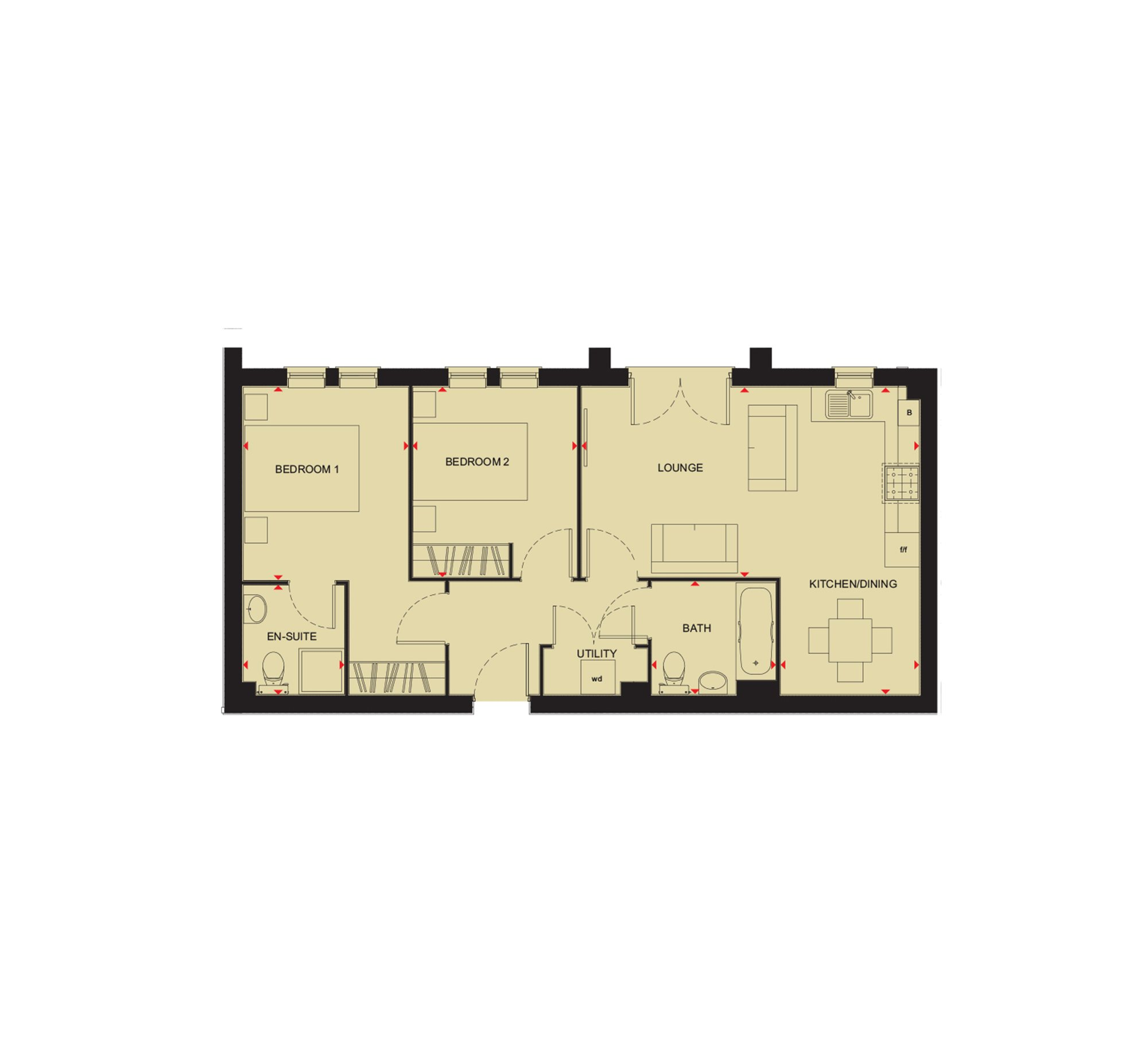 Redshank - Floor Plan
