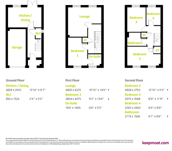 Buttermere - Floor Plan