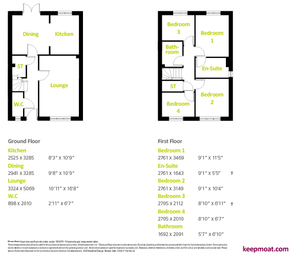 clifton - floor plan