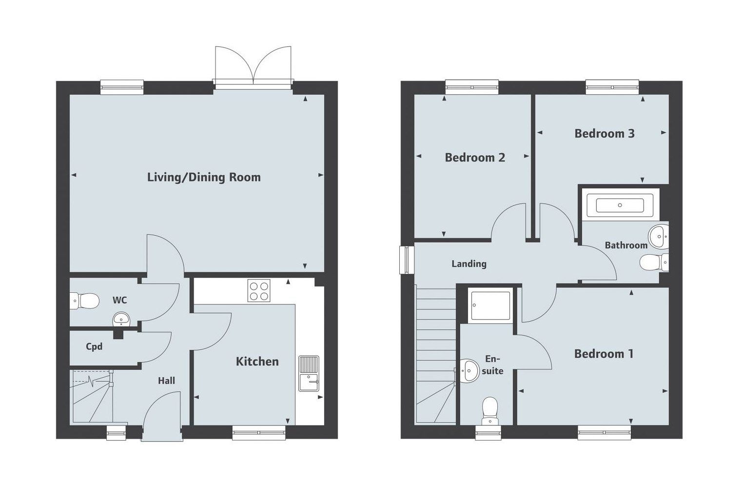 Elliot - Floor Plan